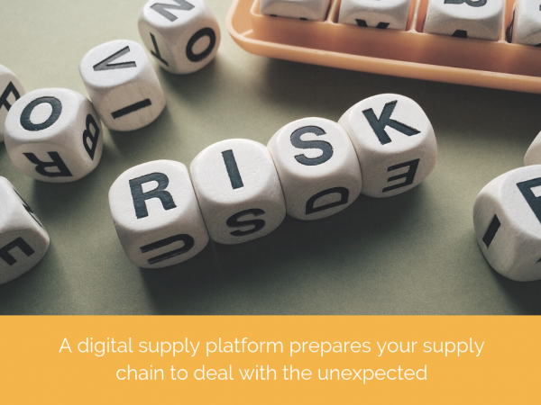 Mitigating supply chain risk with Additive Manufacturing