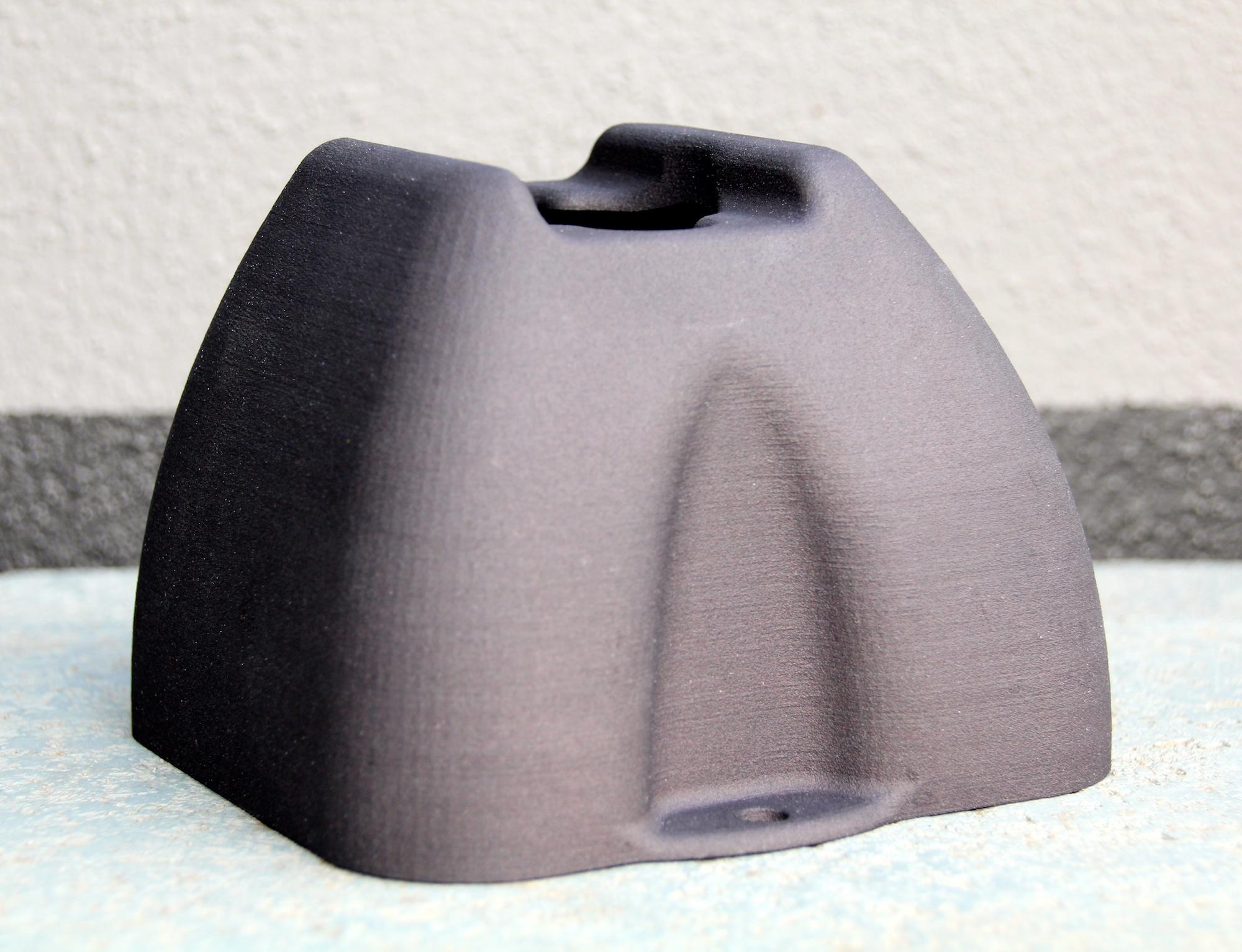3D printed plastic head light unit